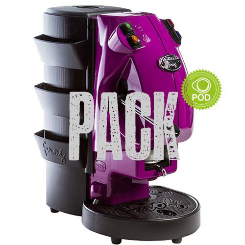 Tür Zubehör für Maschine Didiesse Frog + Verpackung mokaor 200 Kaffeepads Gemischte KEINE MASCHINE ENTHALTEN