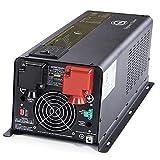Sigineer Power Inverter Charger,6000W 24V DC to 120V 240V AC Pure Sine...