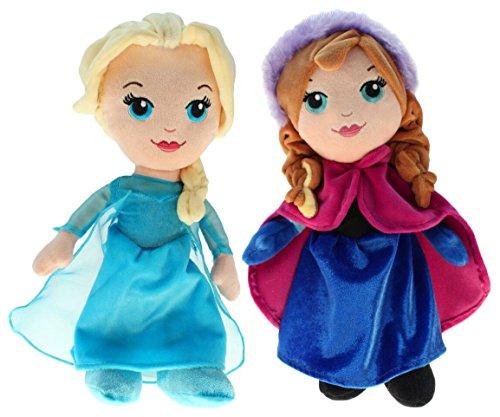 Disney 201790Peluche Frozen Elsa & Anna, 30cm