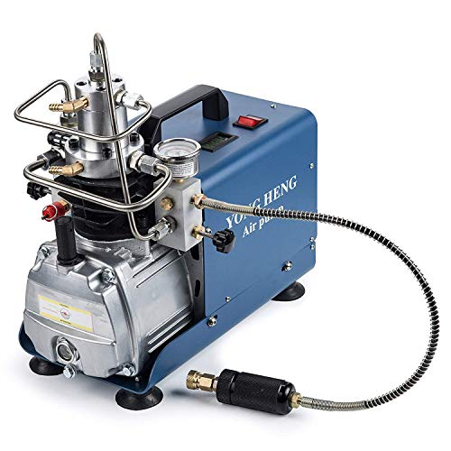 CGOLDENWALL 30MPA 4500PSI 高圧エアコンプレッサー 1L/10min 水冷スーパーエアコンプレッサ 吐出し空気量50L/min空気圧縮機 消防、エアソフト、ペイントボール、漏れ検知、耐圧テスト、自動車タイヤなどに使用 日本語取扱説明