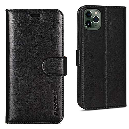 Leather Cover Business Gifts Wallet with Extra Waterproof Underwater Case Flip Case for iPhone 11 Pro