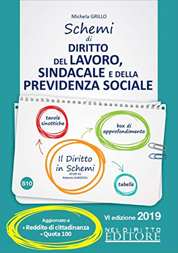 Schemi di diritto del lavoro, sindacale e della previdenza sociale
