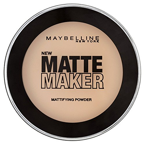 Maybelline New York Matte Maker Puder Nr. 20 Natural Beige, mattierendes Puder