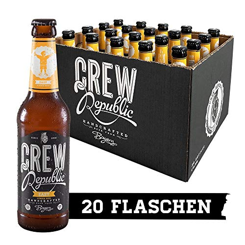 CREW Republic Craft Beer Easy, Obergärig Hell (20 x 0,33l)