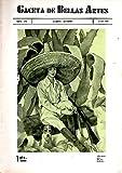 GACETA DE BELLAS ARTES. AÑO XXV. NUM. 438. OCTUBRE 1934.