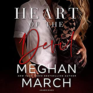Heart of the Devil     The Forge Trilogy, Book 3              By:                                                                                                                                 Meghan March                               Narrated by:                                                                                                                                 Joe Arden,                                                                                        Erin Mallon                      Length: 4 hrs and 40 mins     28 ratings     Overall 4.6