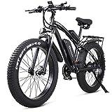 MROSW Vélo Électrique Vélo Électrique 48V1000W Électrique VTT 4.0 Fat Tire Vélo Électrique...