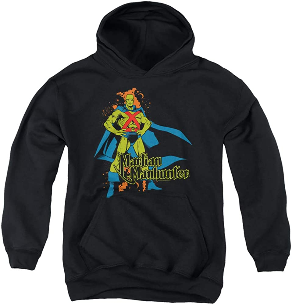 DC Martian Max 43% OFF Manhunter Unisex Youth Hoodie Pull-Over New Shipping Free