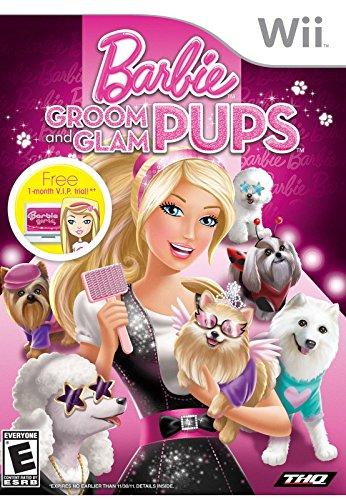 Barbie Groom And Glam Pups - Nintendo Wii