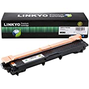 LINKYO Compatible Toner Cartridge Replacement for Brother TN221BK TN-221BK (Black)