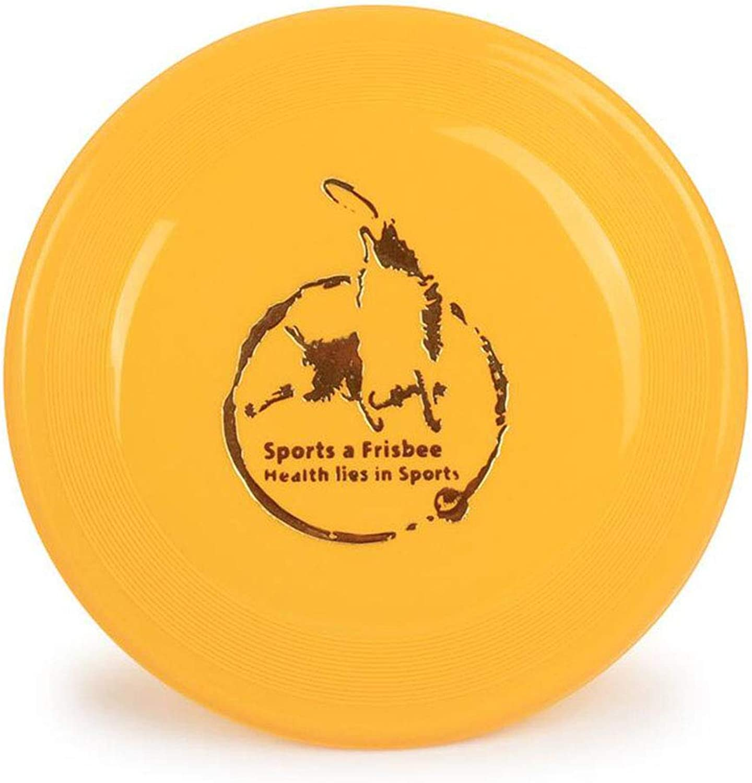 Frisbee, Dog Special Frisbee Dog Toy Outdoor pet Frisbee Training Soft biteResistant golden Edging Standard UFO,Yellow
