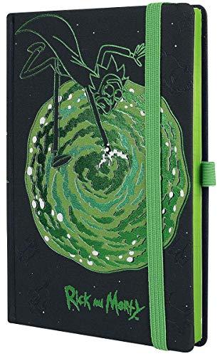 Notebook Pyramid Rick & Morty Premium Portal, Multicolor, A5