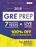 GRE Prep by Argo Brothers: Practice Tests + Online System + Videos,...