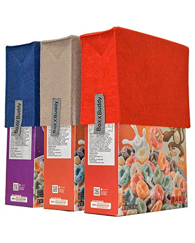 Boxx Buddy Combo Pack - Spoil Proof Reusable Cereal Box Cover (One Size Fits All)
