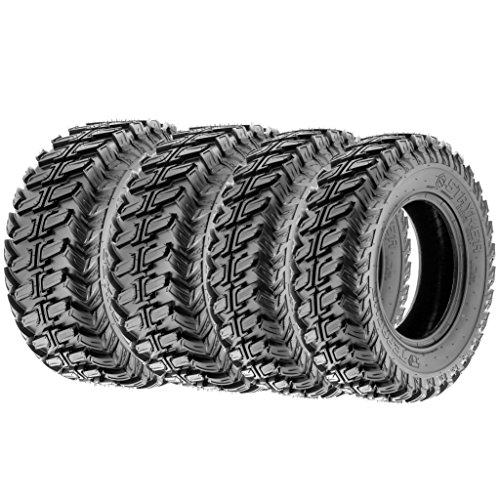 Terache 28x9-14 28x11-14 ATV UTV Tires 8 PR Tubeless TE-ST [Bundle]
