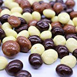 Assorted Flavors Chocolate Covered Roasted Espresso Beans (New York Mix) 2 Pound