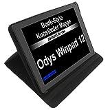 foto-kontor Tasche für Odys Winpad 12 Evolution 12 Book Style Schutz Hülle Buch schwarz