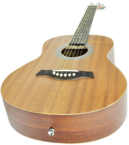 Travel Size Sapele Compact Acoustic Guitar