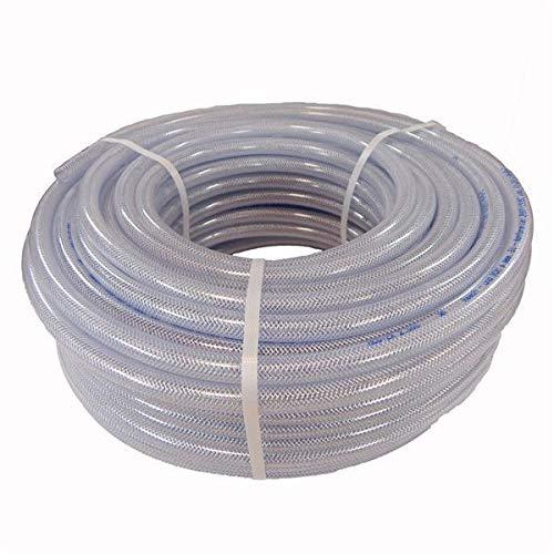 Druckluftschlauch Luftschlauch Druckluft Gewebeschlauch PVC Schlauch 25m Rolle 6 mm