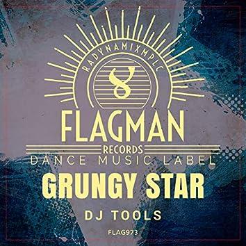 Grungy Star Dj Tools