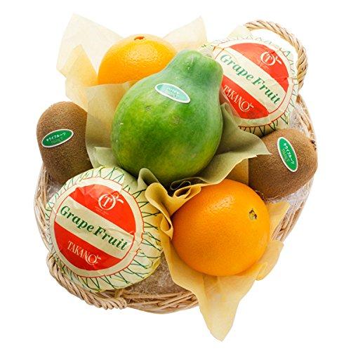 新宿高野 フルーツバラエティーEA #29100 [グレープフルーツ/オレンジ/キウイ/パパイヤ] ご挨拶 手土産 ギフト 果物 詰め合わせ お中元