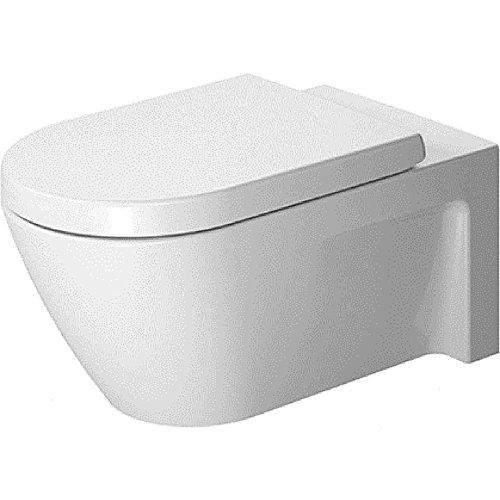 Duravit Starck 2 Wand-WC weiß 375 x 620 mm lange Ausführung!! 2533090000