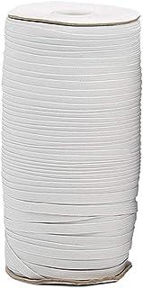Fugift - Nastro elastico intrecciato per lavori a maglia, lunghezza 100 m, lunghezza 6 mm