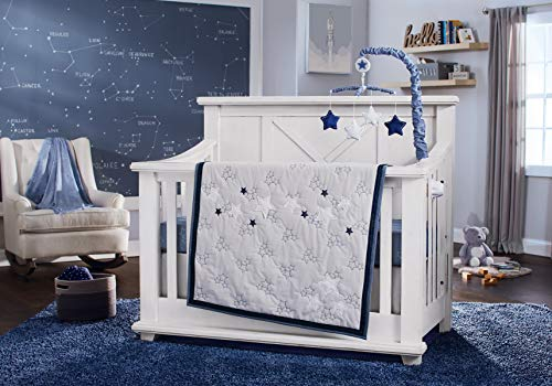 Koala Baby Starry Night Bedding Set and Accessories (4 pcs Bedding Set)