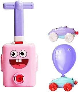 سيارة تعمل بالبالون، مجموعة بالونات ذاتية الصنع للأطفال ذاتية الصنع من البالونات والتجارب العلمية التعليمية للأطفال مع بال...