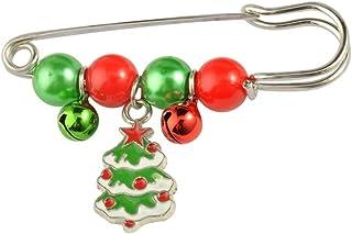 TLZR Exquisit gestaltete Weihnachtsbaum Stil Brosche Party Brosche Hochzeit Braut Brosche