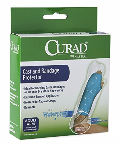 Curad - CUR200AAA Cast Protector Adult Arm, 2 Count