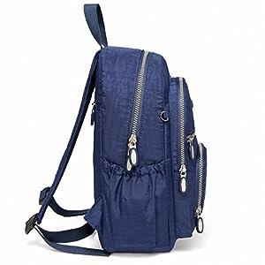 512ULek2X0L. SS300  - AOTIAN Mujer Peso Ligero Mochilas de Casual Juveniles Bolsas Escolares Bolsa de Uso Diario 9 litros Azul
