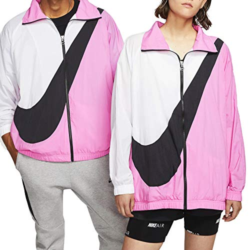 Nike Giacca A Vento Donna Fuxia Full Zip BV3685-610 (m)