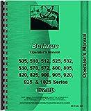 Belarus 570 Tractor Operators Manual