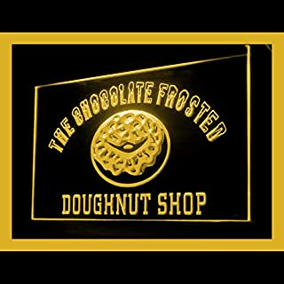 110209 Chocolate Doughnuts Shop Cafe Display LED Light Sign