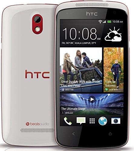 HTC Desire 500,4Gb,Weiß-Rot