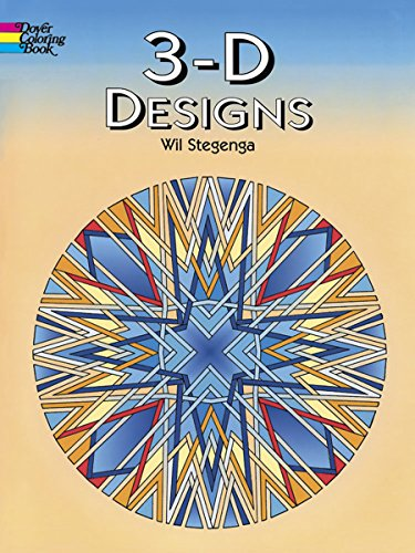 Price comparison product image 3-D Designs (Dover Design Coloring Books)