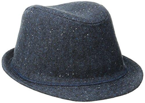 Levi's Men's Classic Fedora Panama Hat Summer Vacation, Grey, Large-X-Large