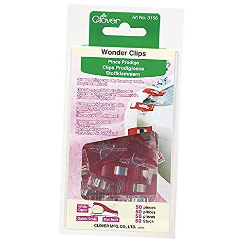50-Pack, Red, Wonder Clips