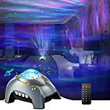 Proyector Estrellas, ZOZANEL Proyector Galaxia con Ruido Blanco para Infantil, Proyector Estrellas Techo Ddultos con Control Remoto, Proyector Bebes Luces y Musica para Decoración de habitación