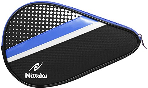 Learn More About NITTAKU Polka Full Table Tennis Racket Case (Blue)