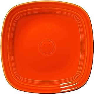 Fiesta Square Dinner Plate, 10-3/4-Inch, Poppy