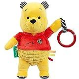 Rainbow Designs Disney Winnie the Pooh A New Adventure Activity Toy - Soft Cuddly Teddy - 25cm Tall