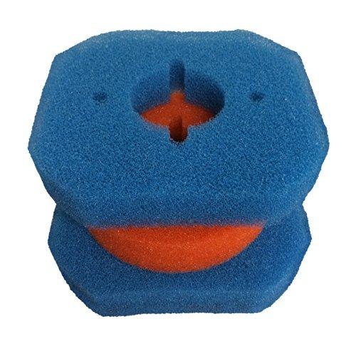 Finest-Filters de filtre de rechange pour kit de Filtoclear 3000 Oase Filtre en mousse, 2 gros et 1 Fine