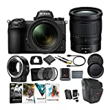 Nikon Z 6 Mirrorless Digital Camera with 24-70mm Lens and FTZ Mount Adapter Kit with Spare EN-EL15B Battery and Charger