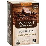 NUMI TEA TEA,OG2,CHOCOLATE PUERH, 16 BAG