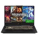 Asus TUF Gaming F17 PC Portable TUF766HM-HX063T Portable Gaming 17.3'' FHD 144Hz / IPS (Intel i7-11800H, RAM 16G DDR4, 1024 GB SSD, RTX3060 - 6GB GDDR6, Windows 10) Clavier AZERTY Français
