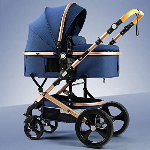 Cheapest Price! TXTC Compact Convertible Luxury Strollers, Pushchair Stroller,Portable Pram Carria...