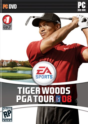 Tiger Woods PGA Tour 08 DVD