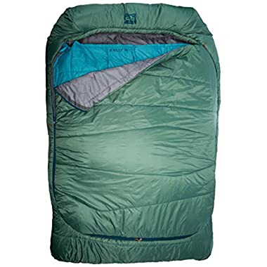 Kelty Tru.Comfort 20 Degree Double Wide Sleeping Bag, Fern